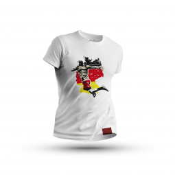 T-Shirt Thrower weiß