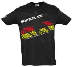 Shirt New-Wave schwarz